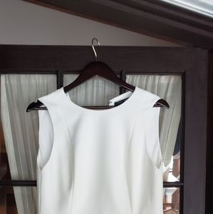 NWT Alice and Olivia Size 8 Off White Dress